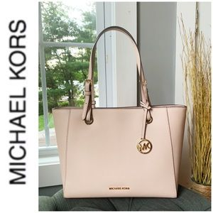 NWT authentic MK Walsh leather tote ballet